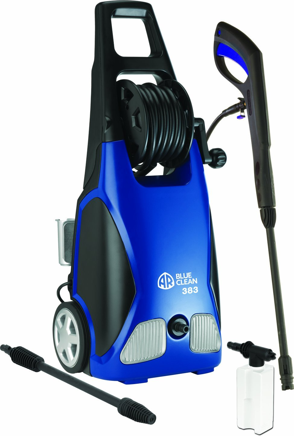 Blue clean pressure washer