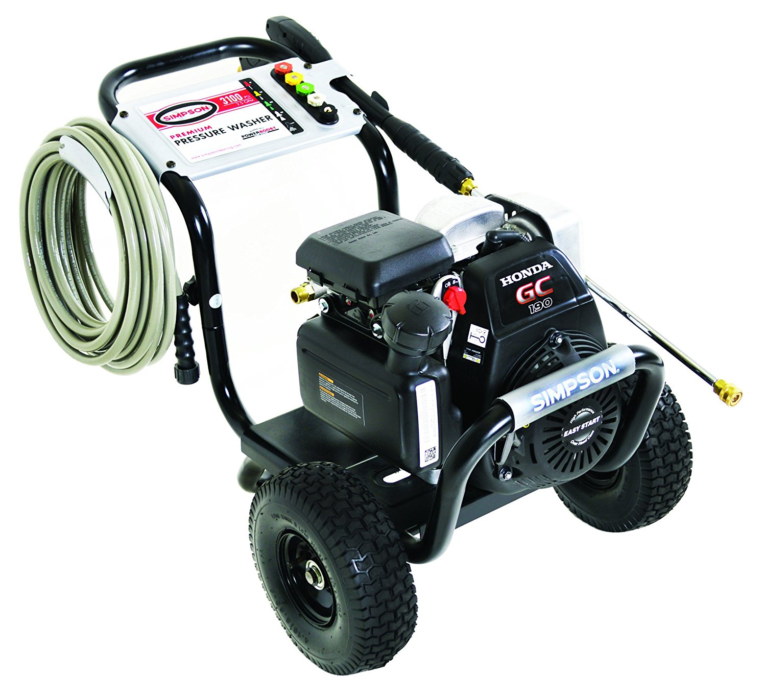 simpson 3000 psi pressure washer for the home