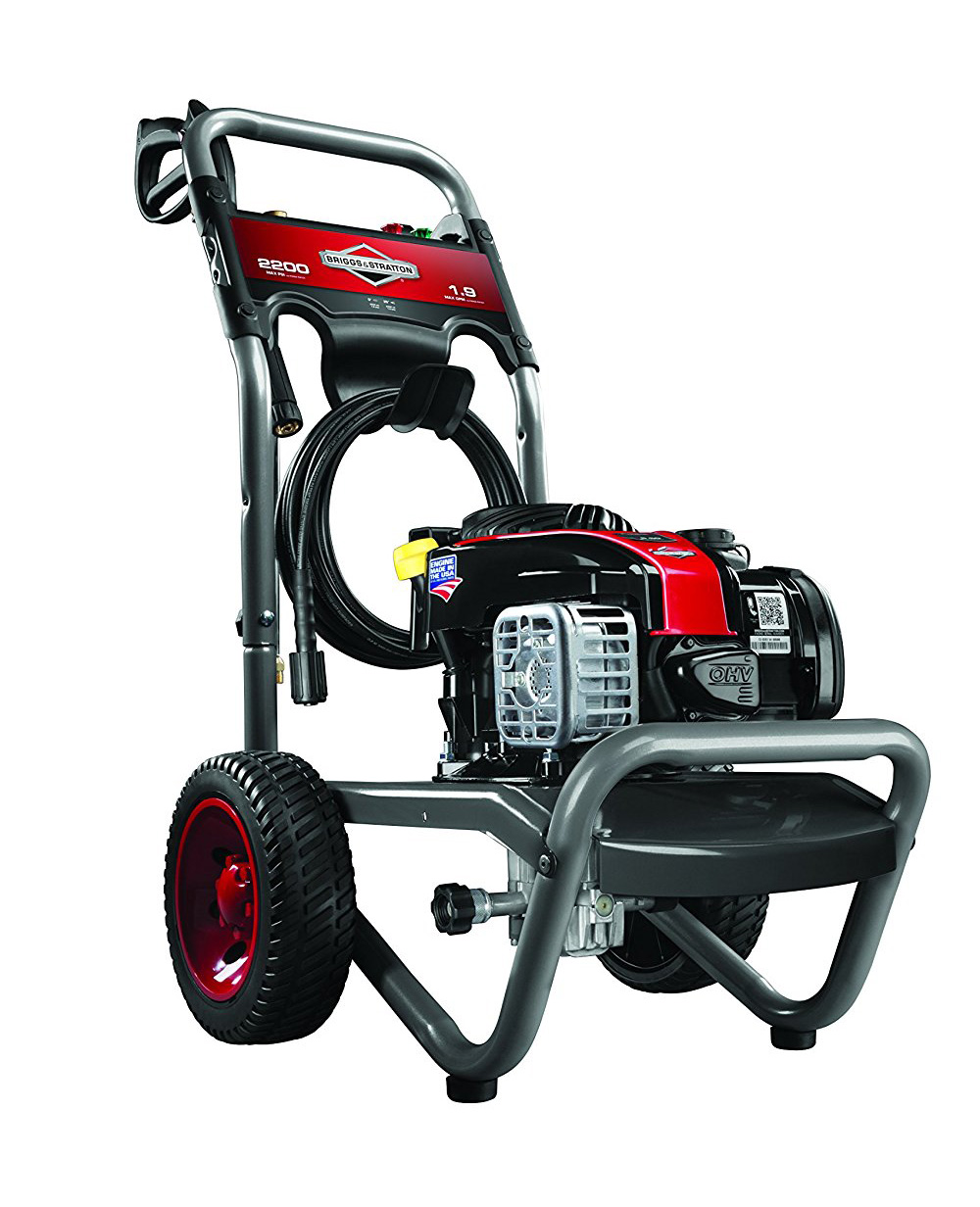 briggs stratton gas driven power washer